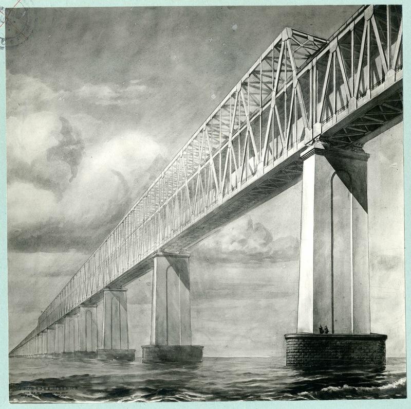 советский проект крымского моста