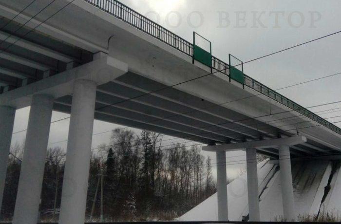 Ремонт путепровода через ж\д  на КМ 2+609 А-108