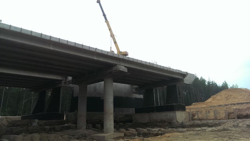 Мост через реку Хубка
