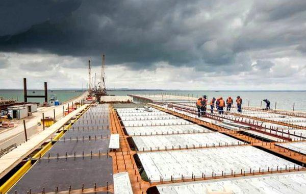 СФБ-плиты в строительстве моста